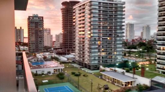 Arenas del Mar Apartments : Vista desde el balcon