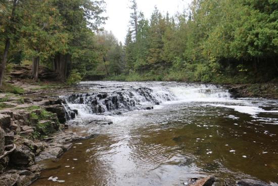 Presque Isle, MI: Ocqueoc Falls in the Fall '15