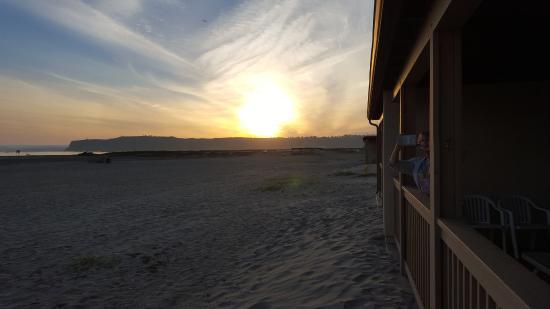 Navy Lodge North Island Naval Air Station: sunset