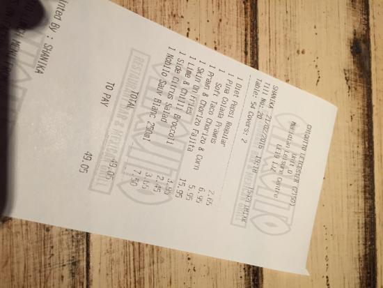 Chiquito - Leicester: photo1.jpg