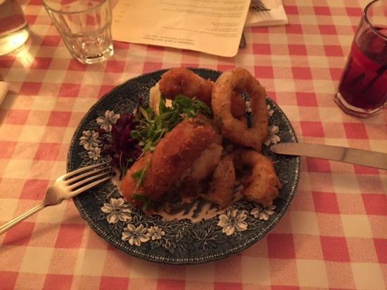 The Coach & Horses: The coach and horses food