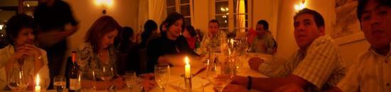 Wirt am Dom: Fue una hermosa noche de velas, buen vino y excelente comida