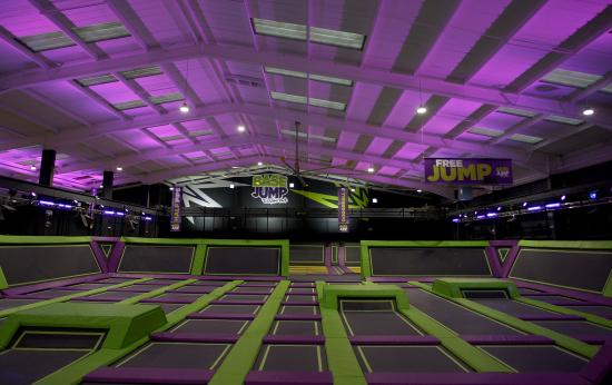 Rayleigh, UK: The UK's Ultimate Trampoline Park
