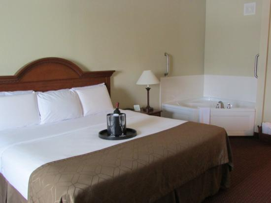 Dollinger's Inn & Suites: King Bed-Jetted Tub-Suite