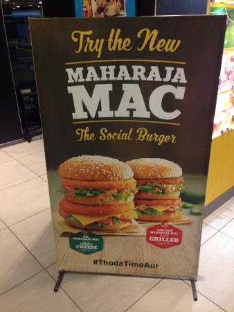 "McDonald's India on Twitter: ""A burger so big and a flavour so ..."