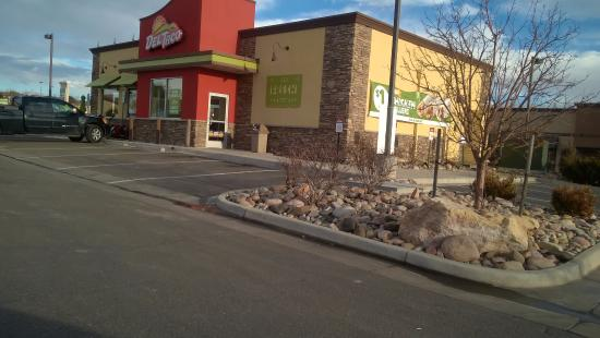 front as seen from n acadamy picture of del taco colorado rh tripadvisor com