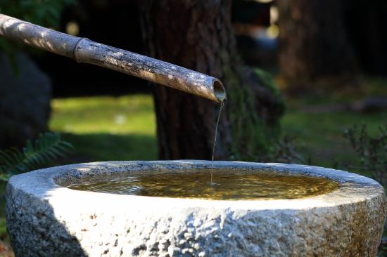 Fountain picture of portland japanese garden portland for Garden fountains portland oregon