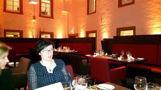 restaurant picture of hotel augustiner kloster. Black Bedroom Furniture Sets. Home Design Ideas