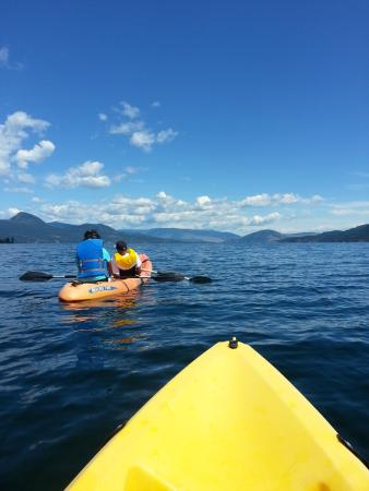 South Fintry, Canadá: Kayaking!