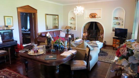 Addo, Sudáfrica: Entspannung in der Gäste-Lounge