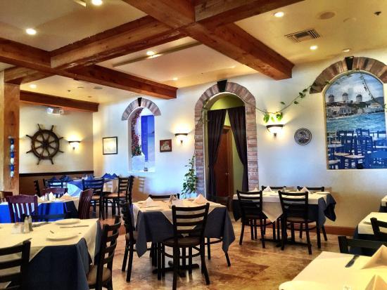 greek inspired decor picture of olympia cafe palm beach gardens rh tripadvisor com