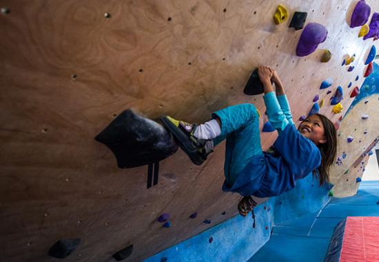 Central Rock Gym: Try out climbing today with a Staff Belay!