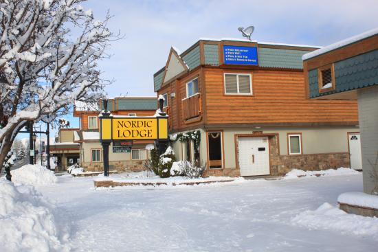 Nordic Lodge of Steamboat Springs: Winter Photo