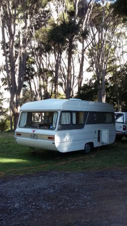Mangaweka, Nouvelle-Zélande : Powered campsite
