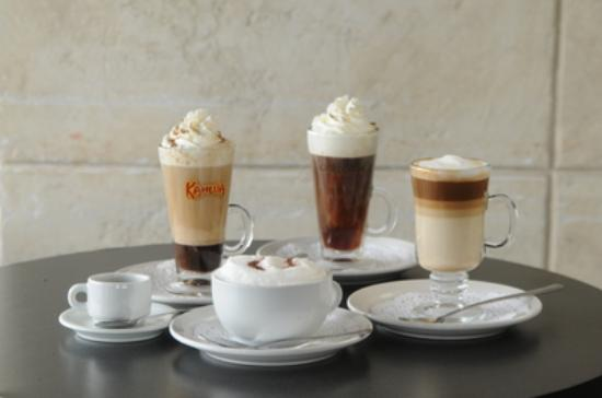 Symposium Cafe Restaurant & Lounge: Coffees specialty