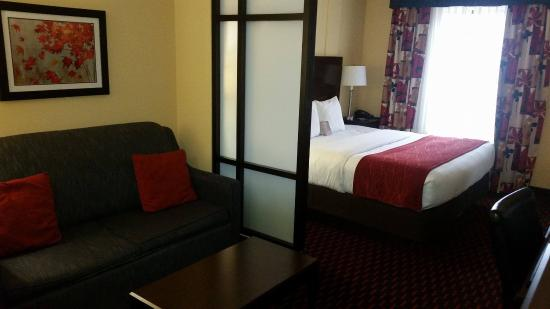 Comfort Suites Altoona: King Suite