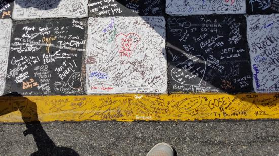 Sign The Start Finish Line Picture Of Daytona 500 Daytona Beach