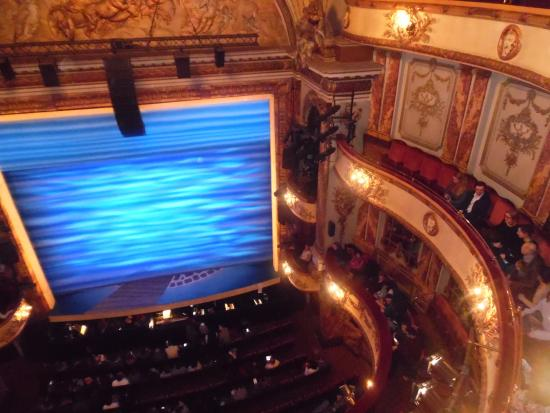 Inside picture of novello theatre london tripadvisor for Balcony novello theatre