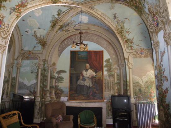 Couvent Saint Francois: salle de television du couvent st françois