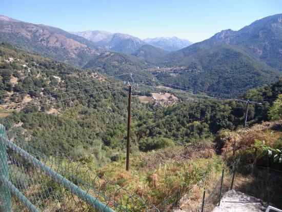 Vico, France: vue de notre balcoon