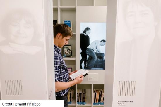 cr dit renaud philippe photo de maison de la litterature qu bec ville tripadvisor. Black Bedroom Furniture Sets. Home Design Ideas
