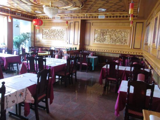 Le Grand-Quevilly, Fransa: la salle intérieure du restaurant