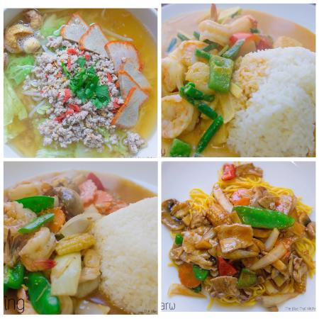 THE BLUE THAI KITCHEN: Lunch menu