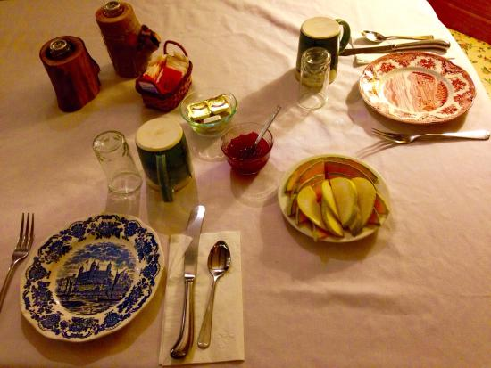 Willkommen Hof Bed and Breakfast: Amazing food. Excellent hospitality.