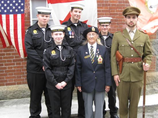 "Harbour Grace, Canadá: ""Honor 100"" Celebration at the Conception Bay Museum August 2015"