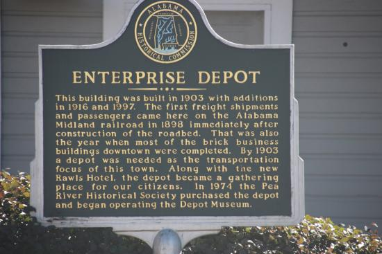Enterprise, AL: Historical Marker