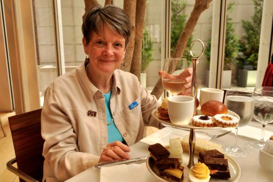 the morgan tea plate in the airy dining room picture of the rh tripadvisor co nz
