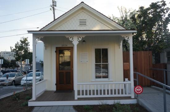 Shotgun house santa monica conservancy picture of Prefab shotgun house