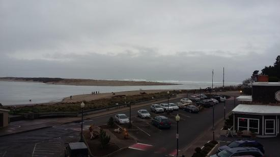 Lincoln City, Oregón: View from my balcony