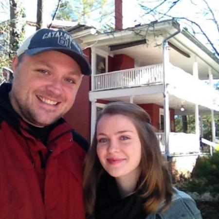 The Red House Inn Brevard: It was a cold weekend, but we loved every minute!