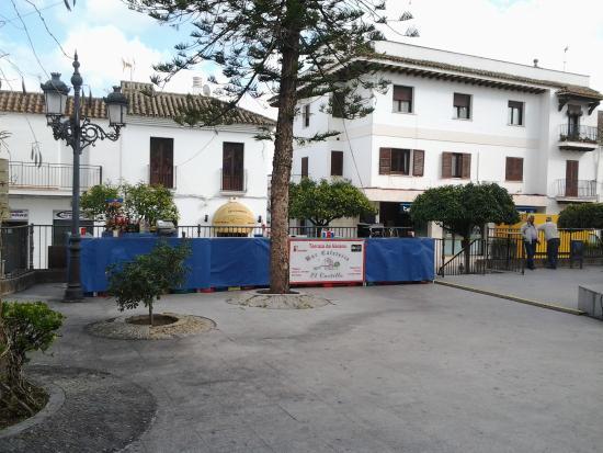 Barra En La Terraza Picture Of Bar Cafeteria El Castillo