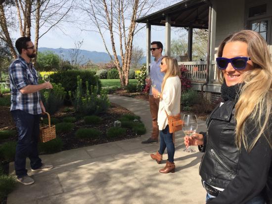 Rutherford, Kaliforniya: começa o tour com degustação