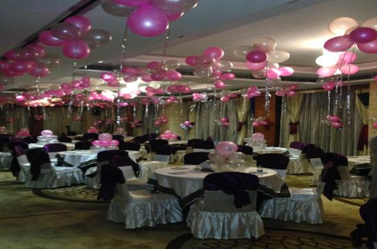 Best Western Skycity Hotel Birthday Party Decoration At