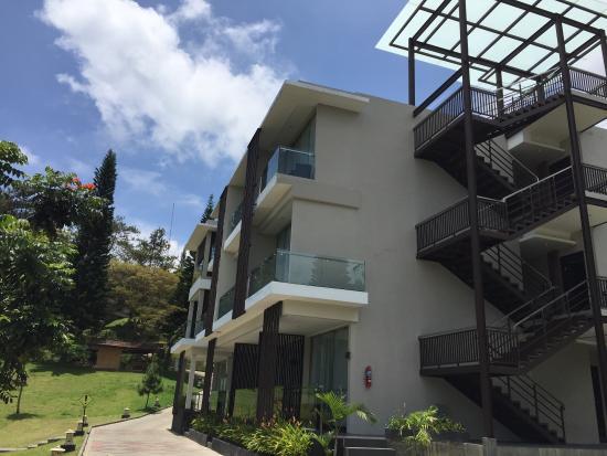 Lembang Asri: The new building and lush garden