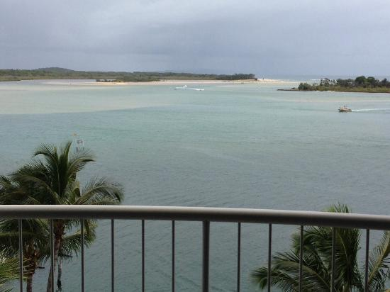 Noosa Pacific Riverfront Resort: Room view