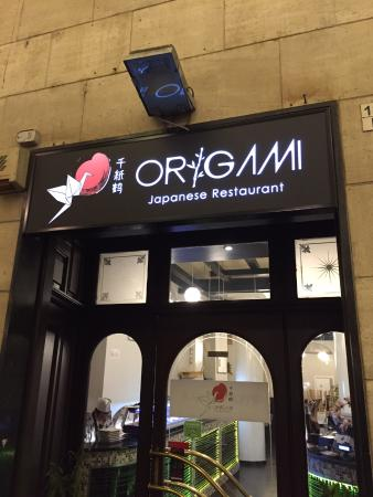Ingresso Picture Of Origami Japanese Restaurant Turin
