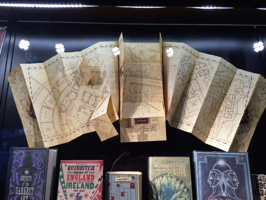 Harry Potter Map Of England.The Marauder S Map Picture Of The Harry Potter London Tour By