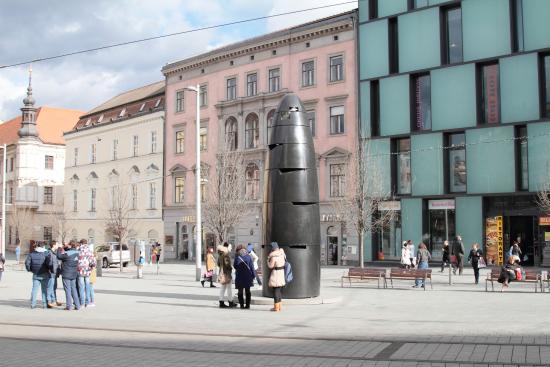 Brno, República Checa: L'Orologio