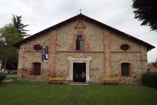 Manta, Italie : facciata