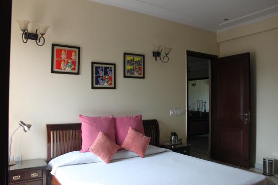 Saket Bed and Breakfast: Room