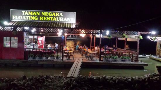 Taman Negara Floating Restaurant