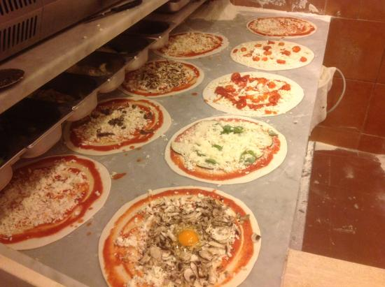 Navona Notte : Che pizza