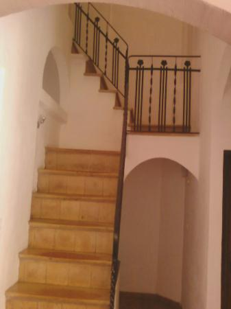 D'Esporles: Old starcase with steep stairs