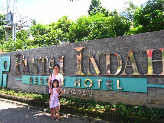 gerbang masuk hotel picture of pantai indah resort hotel rh tripadvisor co za
