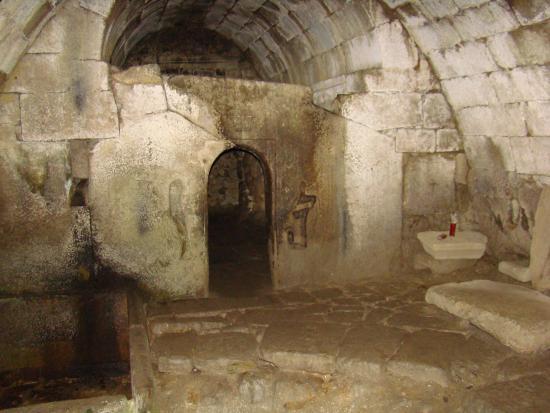 Allariz, Spain: Forno da Santa en la cripta de la Iglesia de la Ascensión SXIII.