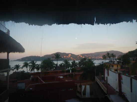 Hotel Villas Las Azucenas: View from my room